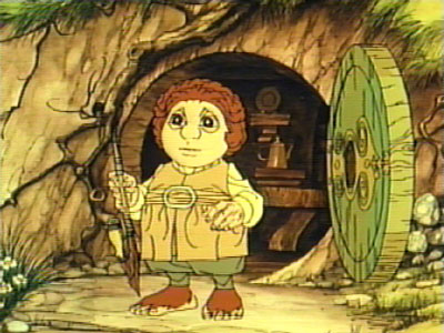 Bilbo Baggins from the Rankin Bass Hobbit Movie.