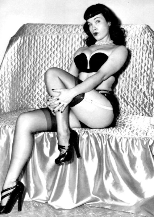 Bettie Page is a Babe for the Eons. The Babe of the Millenium. We love ya, Betty.