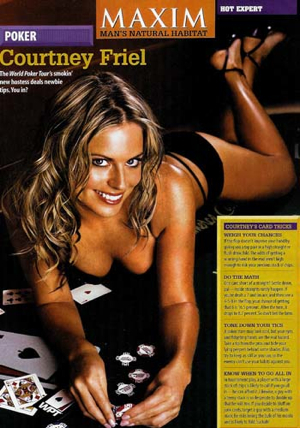 Courtney Friel in Maxim