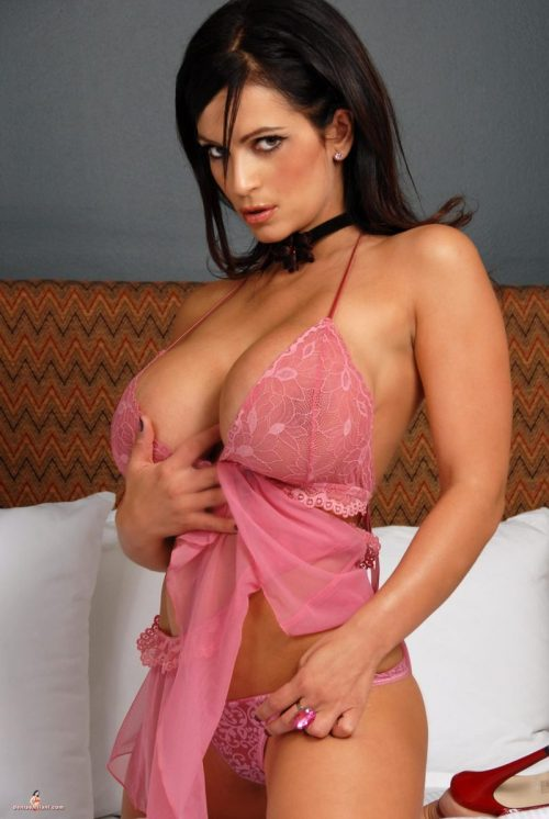 Denise Milani. Looking Gorgeous. Just Because.