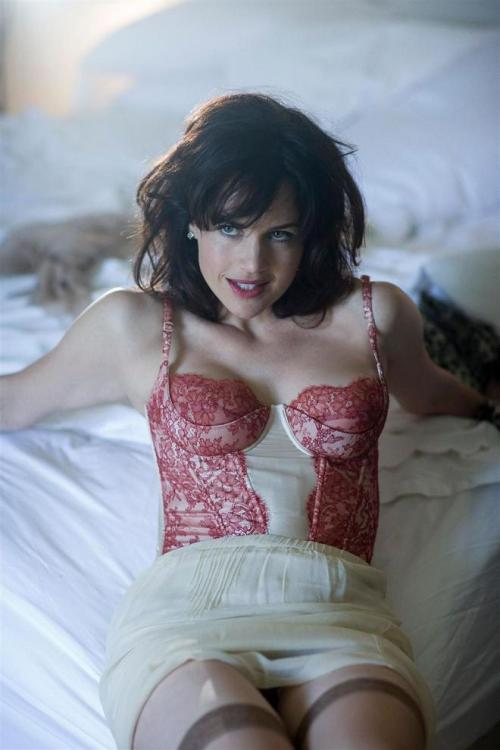 Carla Gugino, Anxiously Awaiting My Arrival. No, Seriously.