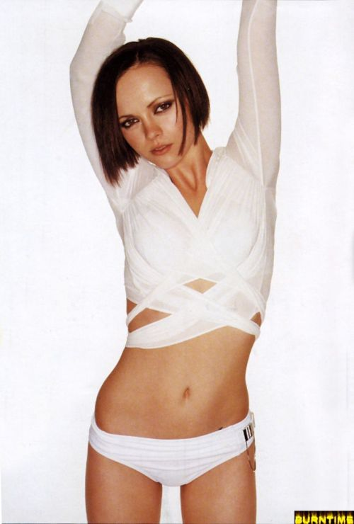 Christina Ricci Virginal in White.