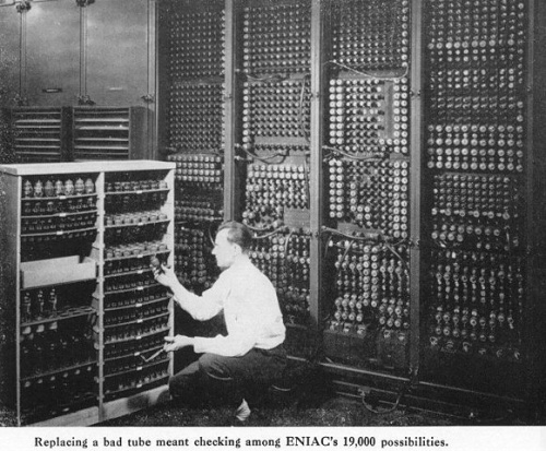 The Original Computer. The ENIAC.