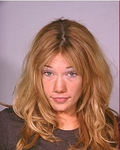 Katie Rees Mug Shot. Cute enough, but still not as cute as Heather Locklear.