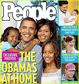 People Magazine Gush Over The Perfect and Wonderful Obamas, as Well.