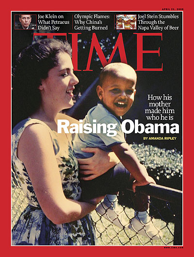 And Then There Was this Cover, Which Concealed a Worshipful Story About How Far Obama Has Come and How Tough It was Growing Up But How There was Always Love in the Obama Household and . . .