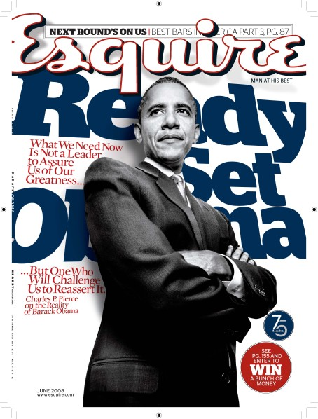 Esquire Raise Some Good Points About How Challenging it Must Be for Barack to Be Smart, Cool, Perfect, and Wonderful All The Same Time.