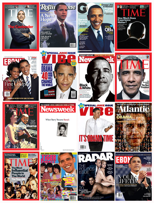 He's Certainly Enjoyed His Share of Magazine Covers. Most of them at least respectful, many of them worshipful.