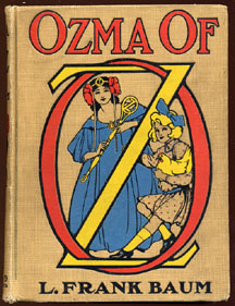 Ozma of Oz. I really Enjoyed this books as a kid.