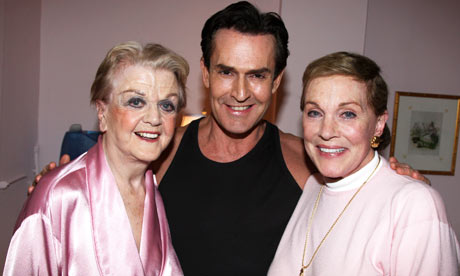 Angela Lansbury, Julia Andrews and Rupert Everett.