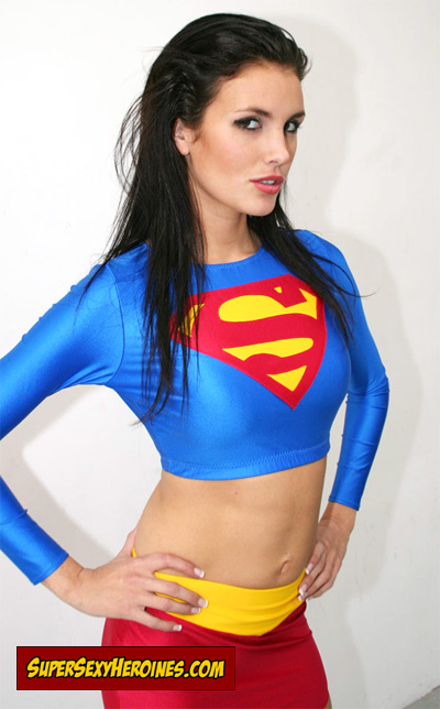 Bianca Deacy as Supergirl. Pretty Cute, Do You Think Not?