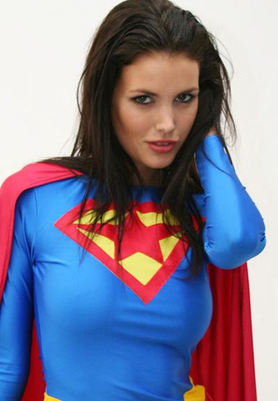 Bianca Deacy as a Generic Superwoman, But Close Enough.