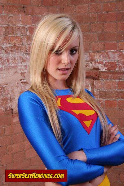 Faye Tasker as Supergirl.