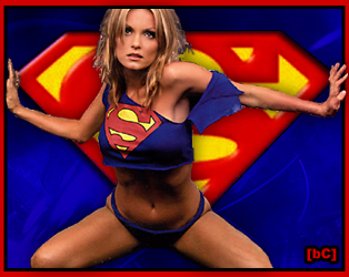 Now, That's a Supergirl. Or Superwoman. For You. Dramatic. Cool.