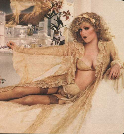 Bernadette Peters, Lounging Seductively.