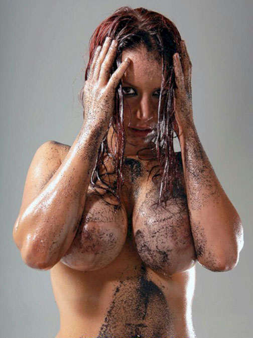 Bianca Beauchamp Naked and Muddy.
