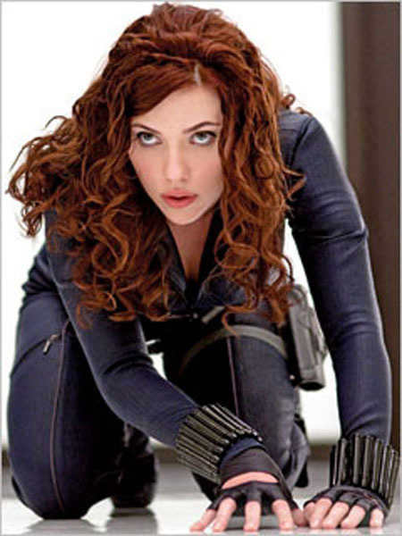 Scarlett Johansoon Is The Black Widow in IronMan 2