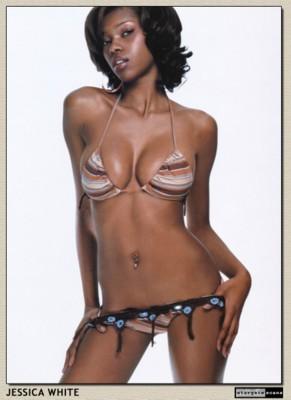 Jessica White in a Tight Bikini.