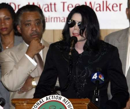 Rev Al Accuses Media of Being Racist Against Michael Jackson, Even Though Michael Jackson is Clearly A White Woman.
