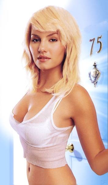 That's Elisha Cuthbert, right? Maybe? Anyway, She's Hot.