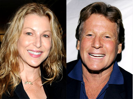Tatum O'Neal is Awfully Cute, But You Think He'd Recognize His Own Daughter. Even if it had been a while.