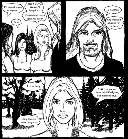 The hot chicks won't leave Athra alone. Why? Because he's totally bad-ass. Don't believe me? Read it for yourself then, suckah!