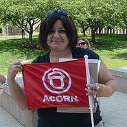 Random Acorn Person. Not the prostitute in question. Just one of the ACORN members that help make fraud and deceit happen.