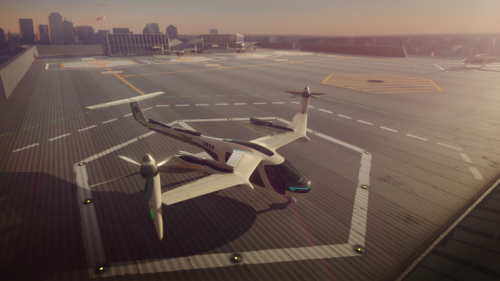 Uber Flying Air Taxi