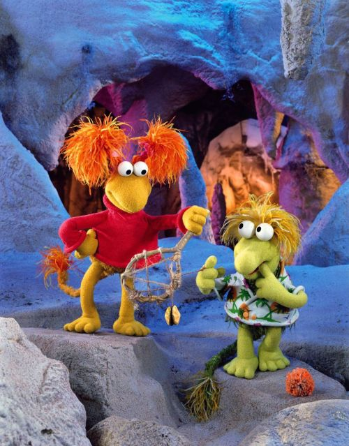 Fraggle Rock Wembley and Red